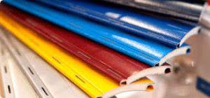 установка цветных роллет