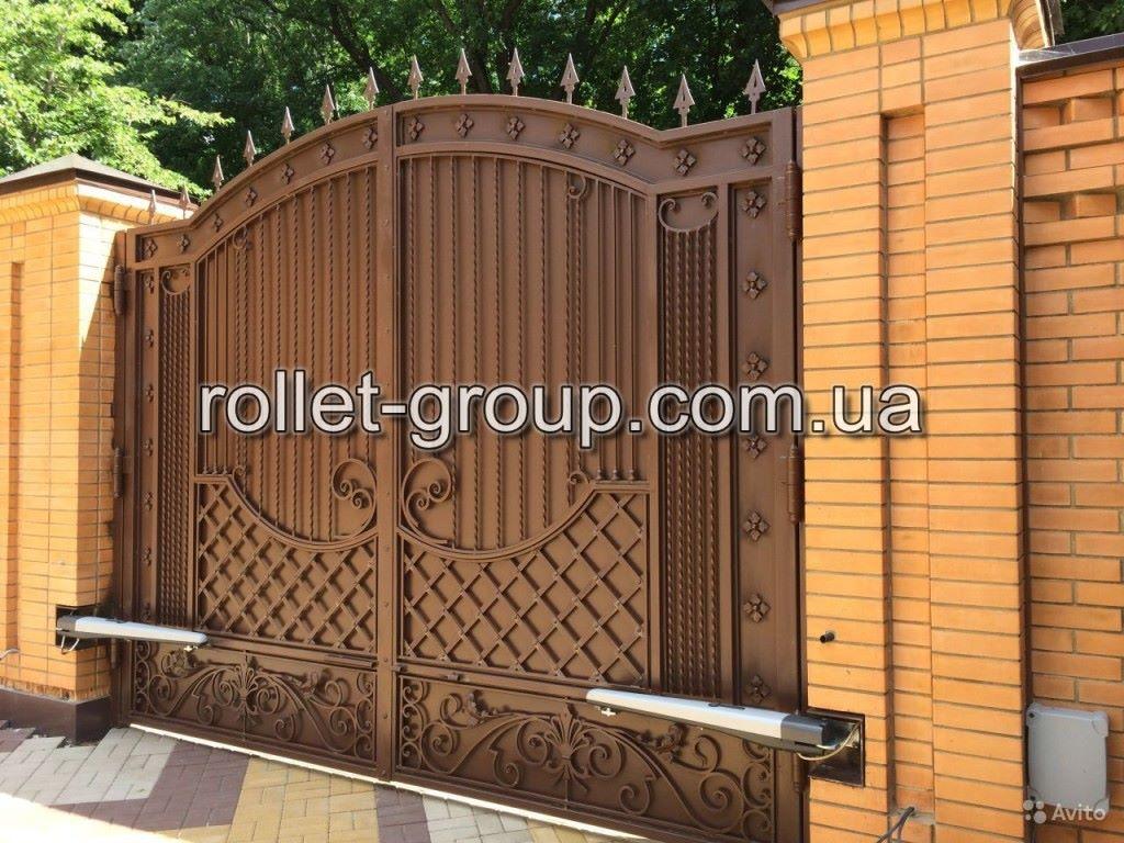 Купить автоматические ворота в подмосковье штакетный забор из металла цена