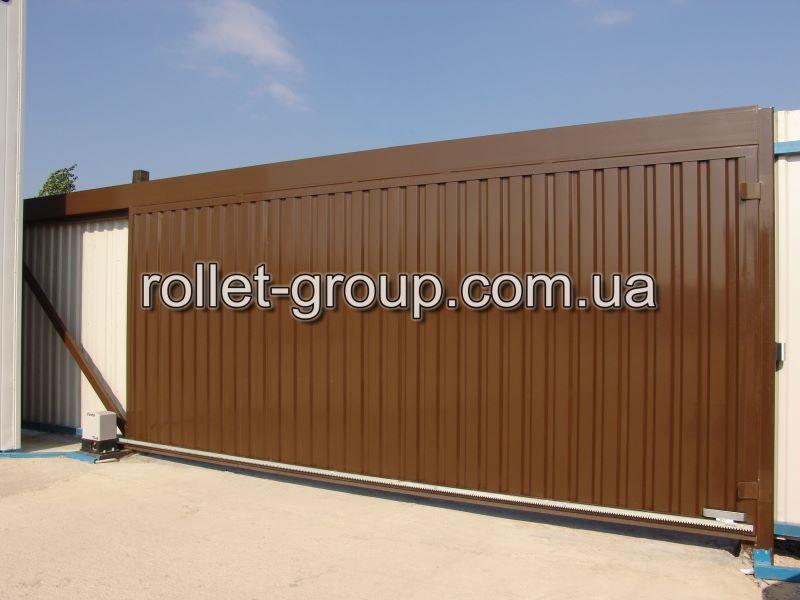 Передвижные ворота заказать металлич ворота для дачи в ярославле